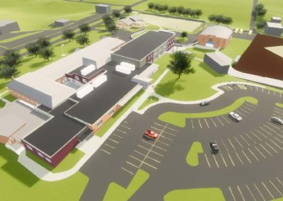 Caldwell County - Granite Falls - Middle School ~ Exterior above 2