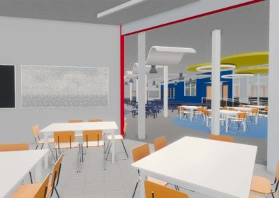 Caldwell County - Granite Falls - Middle School ~ Interior Rending STEM Space 5