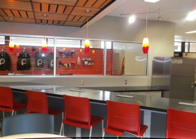 Indiana - IASHS ~ High School - Interior Breakfast Bar 2