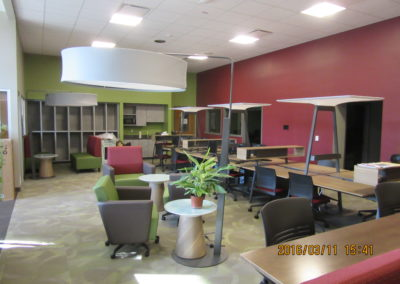 Indiana - IASHS ~ High School - Interior study Hall 3