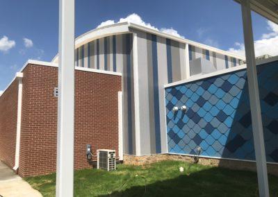 Newton Conover - Exceptional ~ Exterior tile wall 1 (VM)