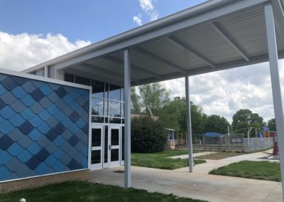 Newton Conover - Exceptional ~ Exterior tile wall 2 (VM)