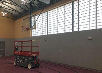 Newton Conover - Exceptional ~ Interior Gymnasium windows 1 (VM)