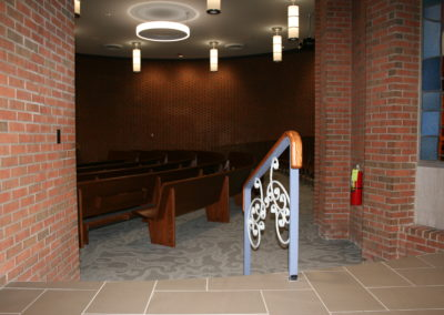 Penn State Altoona - Eve Chapel - Lobby to Sanctuary