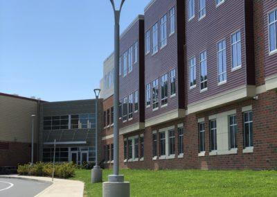 Westmont Hilltop - Elementary ~ Exterior, Playground Side Entrance (VM)
