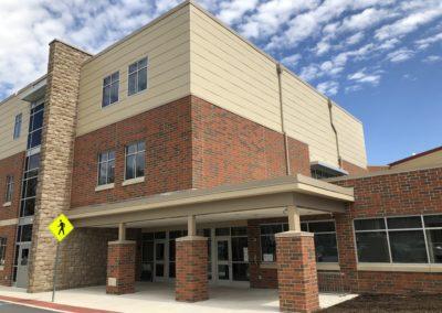 Westmont Hilltop - Elementary ~ Exterior, Visitors Side Entrance 2 (VM)