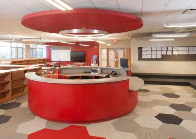 Westmont Hilltop - Elementary ~ Interior, Media Center 1 (MH)