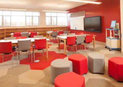 Westmont Hilltop - Elementary ~ Interior, Media Center 2 (MH)